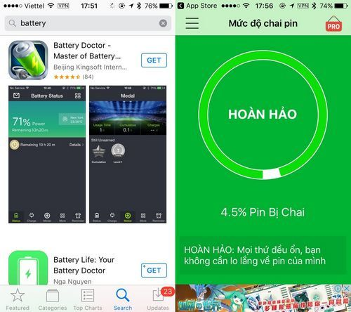 tiết kiệm pin, iPhone, Android, Windows Phone, Smartphone