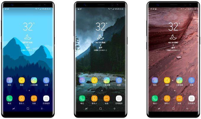 Galaxy Note 8, Samsung, smartphone