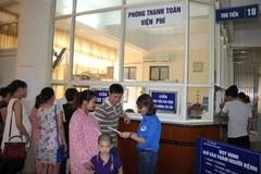 Bệnh viện Hà Nội đồng loạt tăng viện phí từ ngày 1/8