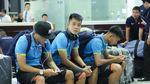 """U22 Việt Nam bị """"hành xác"""" trên đường đi tập huấn"""
