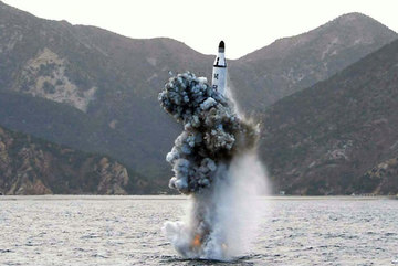 Tàu ngầm Triều Tiên hoạt động bất thường, hiếm có