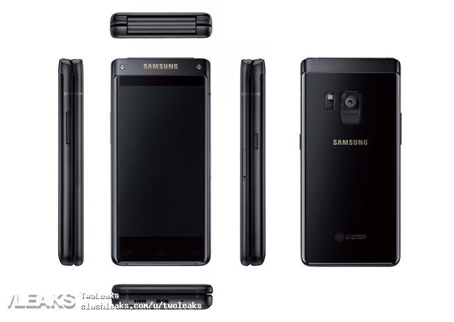 Lộ ảnh mới về smartphone gập cao cấp sắp ra mắt của Samsung