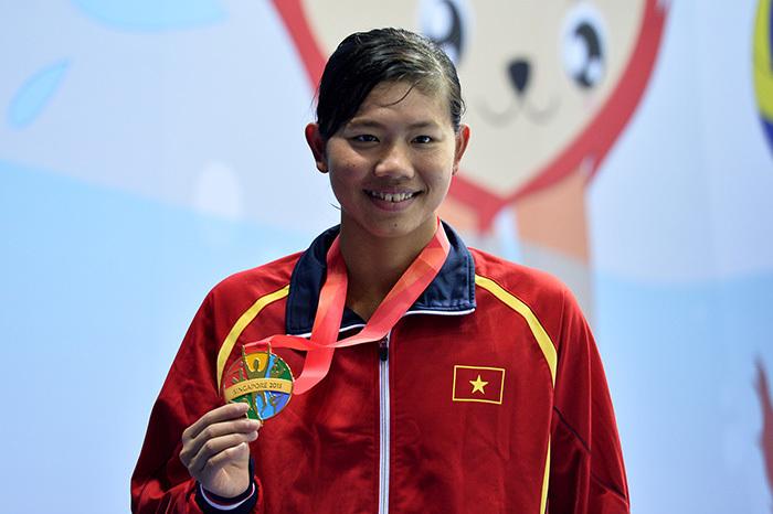 Ánh Viên,HLV Đặng Anh Tuấn,bơi lội Việt Nam