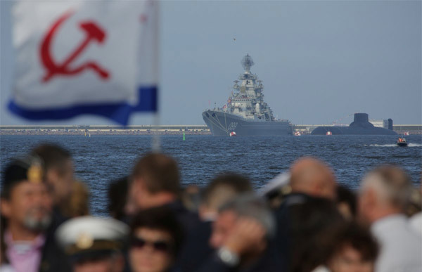 Xem Nga phô uy lực 'khủng' của hải quân