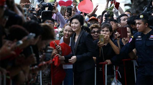 Tòa án Thái Lan, Yingluck Shinawatra, cựu Thủ tướng Thái hầu tòa