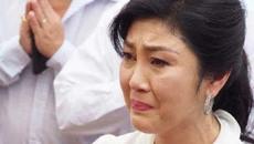 Cựu thủ tướng Thái Lan Yingluck nức nở trước tòa