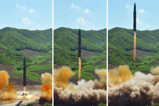 Việt Nam quan ngại việc Triều Tiên tiếp tục thử tên lửa