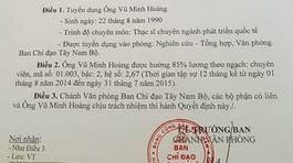 Diễn biến mới về Vụ phó 'thần tốc' Vũ Minh Hoàng