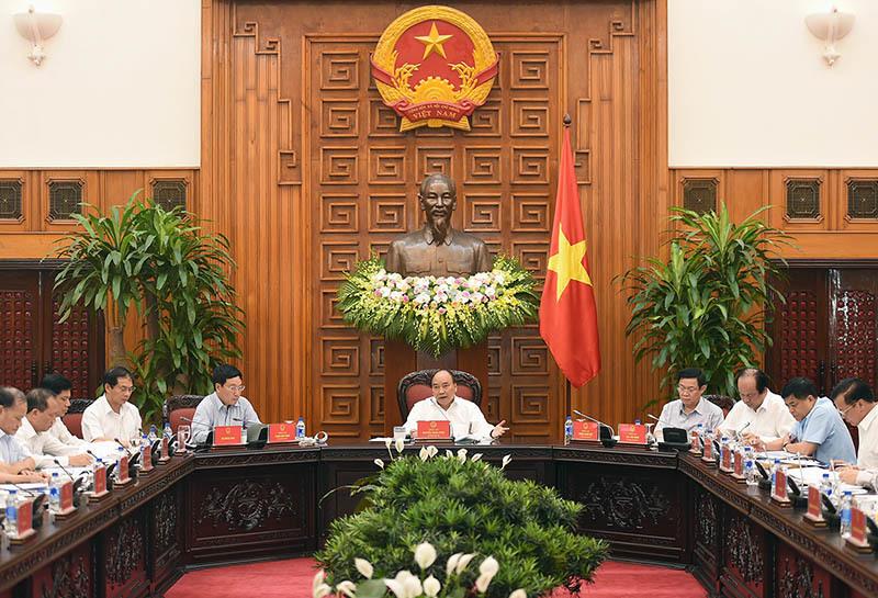 Thủ tướng Nguyễn Xuân Phúc, Nguyễn Xuân Phúc, ODA, giải ngân vốn ODA