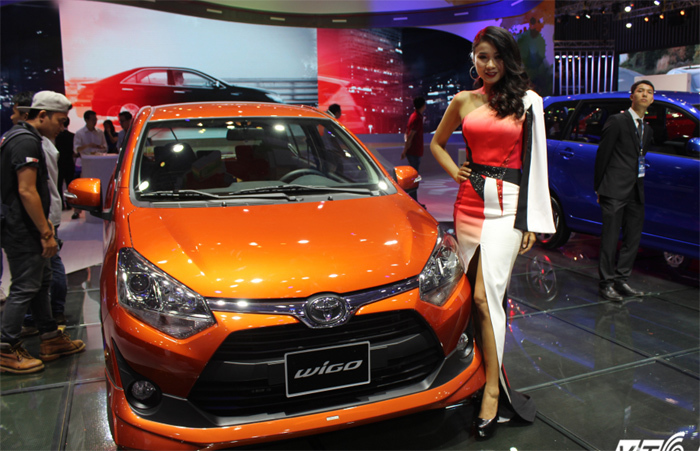 Xe Toyota 300 triệu tấn công thị trường Việt Nam