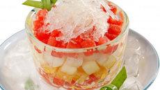 Cách làm hoa quả dầm ngon tuyệt, thơm ngon 'ăn đứt' ngoài hàng