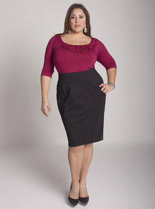 Nguyên tắc phối đồ thời trang công sở cho người béo
