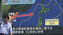 Máy bay Pháp suýt trúng tên lửa Triều Tiên