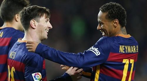 Messi chúc Neymar 'gặp may' tại PSG