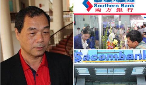 Trầm Bê,Trầm Khải Hòa,Sacombank,SouthernBank,Ngân hàng Phương Nam