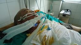Thoát chết trong vụ cháy ở Hoài Đức: cậu thanh niên nguy kịch