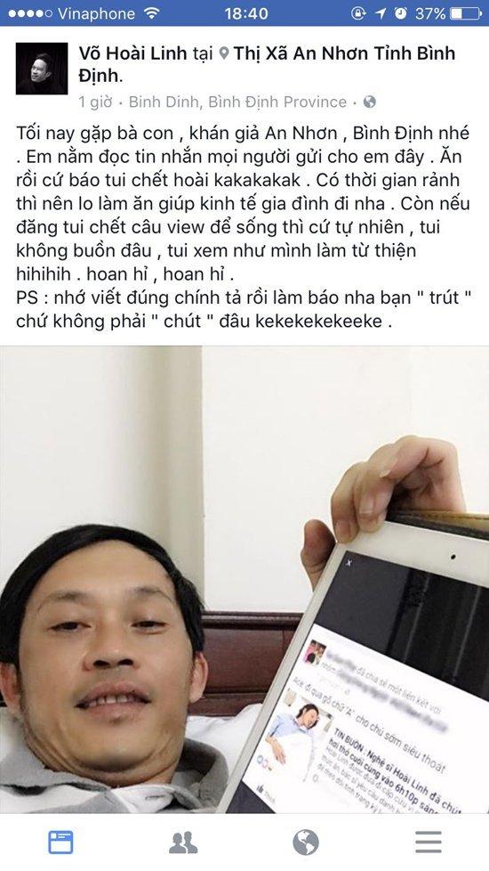 Hoài Linh, Đàm Vĩnh Hưng, Lại Văn Sâm, Sơn Tùng M-TP, làng sao