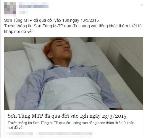 MC Lại Văn Sâm, Hoài Linh 'chết oan' trên mạng xã hội