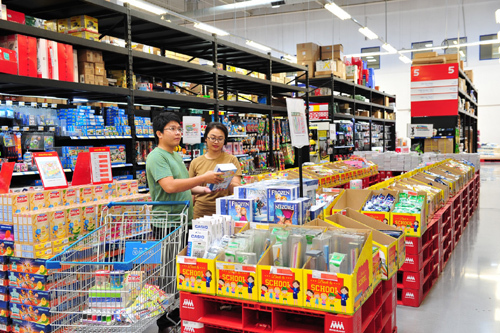MM Mega Market giảm giá hơn 400 mặt hàng mùa tựu trường