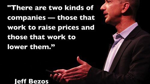 Những câu nói nổi tiếng của tỷ phú Jeff Bezos