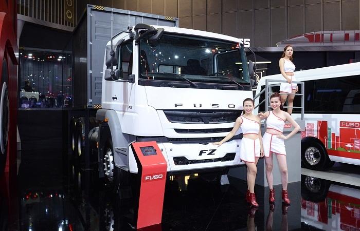 FUSO tung gói hỗ trợ hấp dẫn tại Vietnam Motor Show 2017