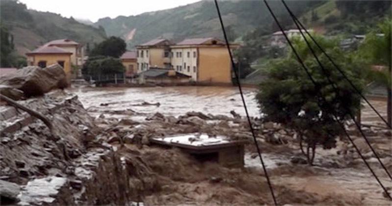 Lũ quét,  Sơn La, Yên Bái, lũ lụt