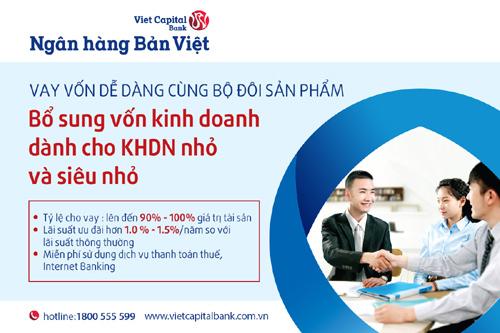 Ngân hàng Bản Việt tiếp vốn kinh doanh cho SME