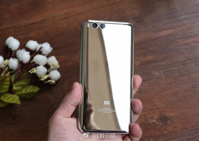 Phiên bản màu bạc đẹp lung linh của Xiaomi Mi 6