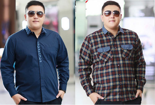 Cách chọn áo sơ mi nam công sở cho người mập và thấp
