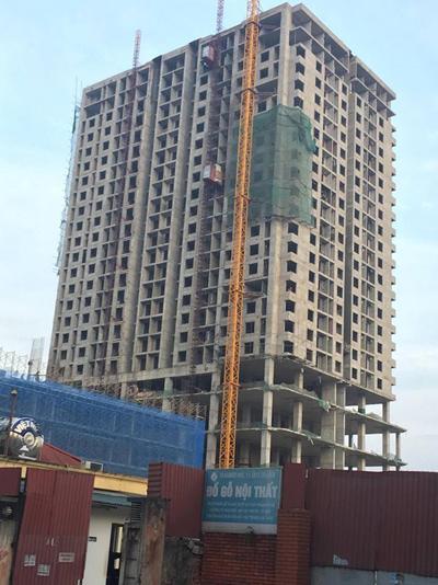 Công trình xây vượt tầng nhưng không có căn cứ để phá dỡ