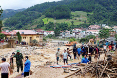 Thủ tướng cử đoàn công tác đến Yên Bái khắc phục hậu quả mưa lũ