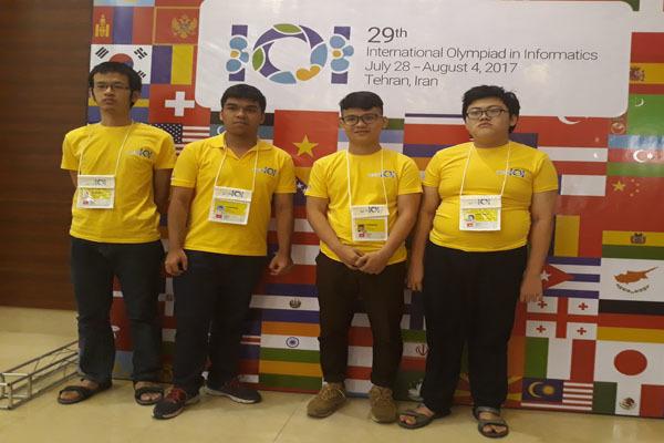 Olympic Tin học quốc tế, Olympic quốc tế