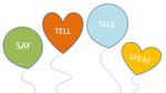 Phân biệt 'say', 'tell', 'talk', 'speak'