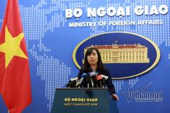 Phản đối việc dùng vũ lực với ngư dân Việt Nam