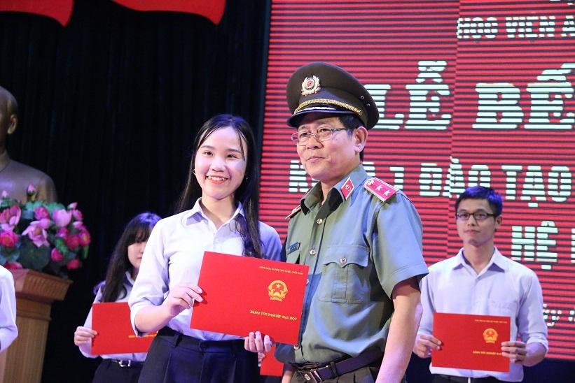 nữ sinh, Học viện An ninh nhân dân