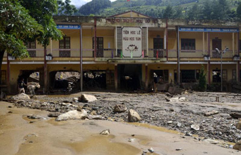Lũ quét,  Sơn La, Yên Bái, lũ lụt, Mù Cang Chải
