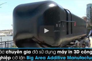 Xem Mỹ chế tạo tàu ngầm 'thần tốc' bằng công nghệ in 3D
