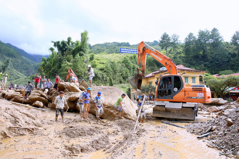 Thủ tướng Nguyễn Xuân Phúc, Nguyễn Xuân Phúc, Lũ quét,  Sơn La, Yên Bái, lũ lụt