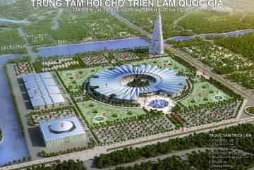Hà Nội xin điều chỉnh quy hoạch triển lãm Đông Anh