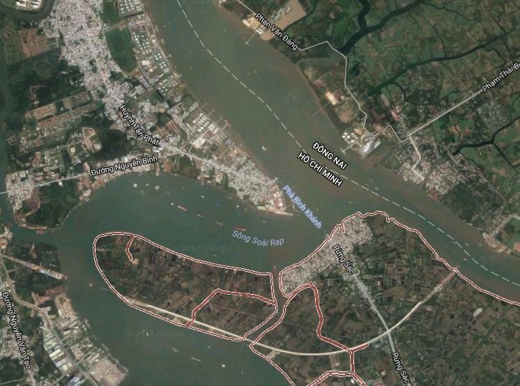 Cầu Cần Giờ, sông Soài Rạp, dự án BOT