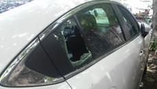 Liên tiếp các vụ xế hộp bị đập vỡ kính ở Hà Nội