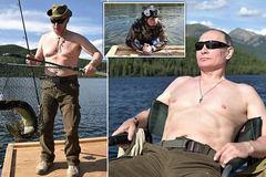 Xem Putin săn cá dưới đáy hồ