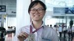 Nữ sinh duy nhất đoạt huy chương Olympic quốc tế năm 2017