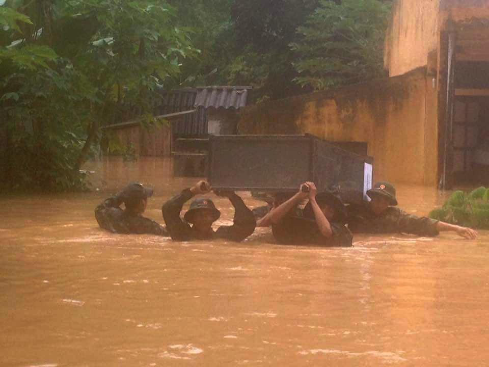 mưa lũ, lũ ống, lũ quét, Điện Biên