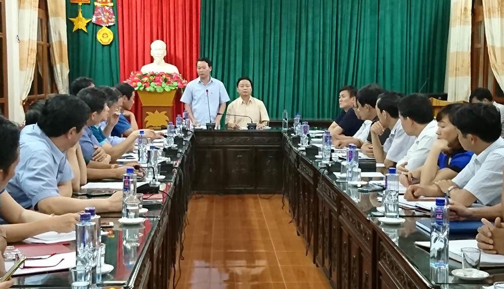 mưa lũ ở Yên Bái, lũ quét, Bộ trưởng Trần Hồng Hà, Trần Hồng Hà, Yên Bái