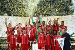Thắng nghẹt thở Dortmund, Bayern đoạt siêu cúp Đức