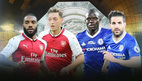 Trực tiếp Chelsea vs Arsenal: Rực lửa Siêu cúp nước Anh