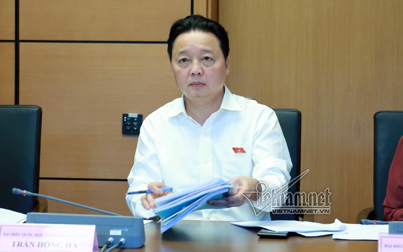 Bình Thuận, Nhận chìm bùn thải, Vĩnh Tân 1, Ô nhiễm môi trường, xả thải ra biển, Bộ trưởng Trần Hồng Hà, Trần Hồng Hà