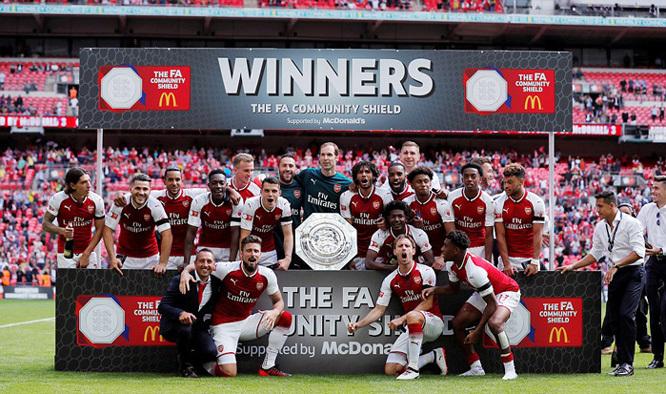 Arsenal, Chelsea, Siêu cúp nước Anh