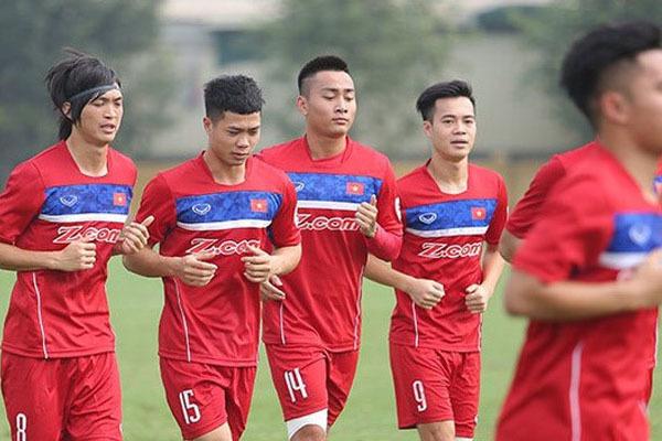 U22 Việt Nam, HLV Hữu Thắng, Công Phượng, danh sách U22 Việt Nam